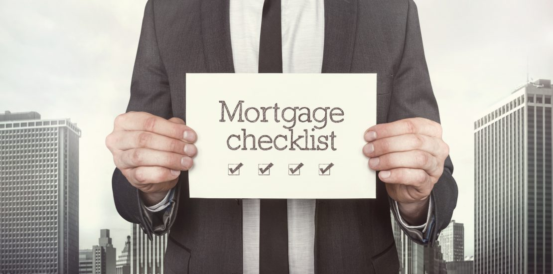 Mortgage checklist image