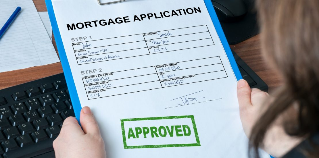 get a mortgage when self employed image