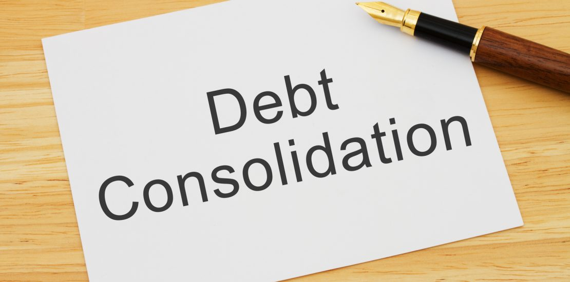 debt consolidation refinance image