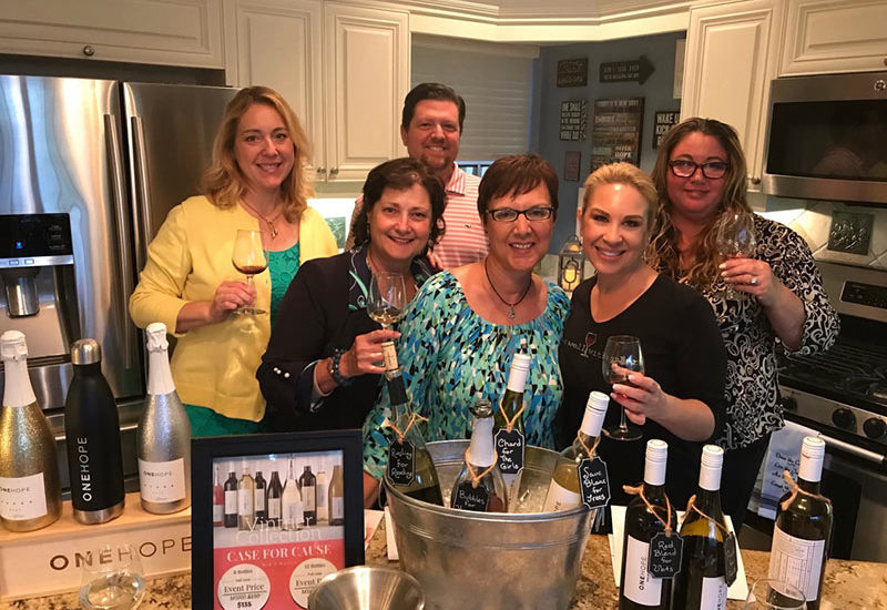 New Hope Wine CREW Event